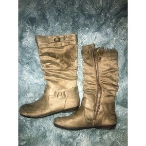 Tan Suede Boots NWOT